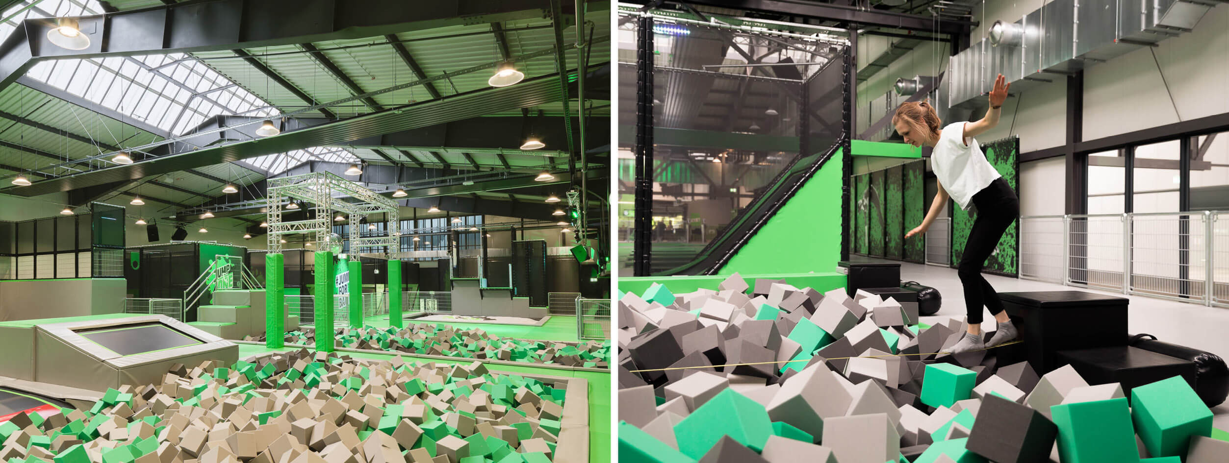 Trampoline park Jump One Hannover