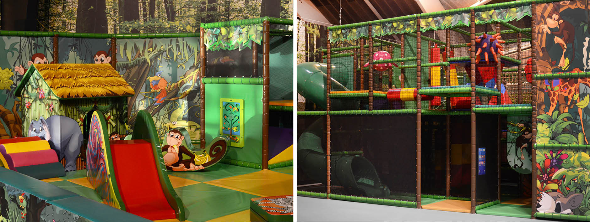 Soft play and play structure