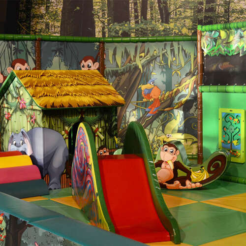 Soft play jungle theme