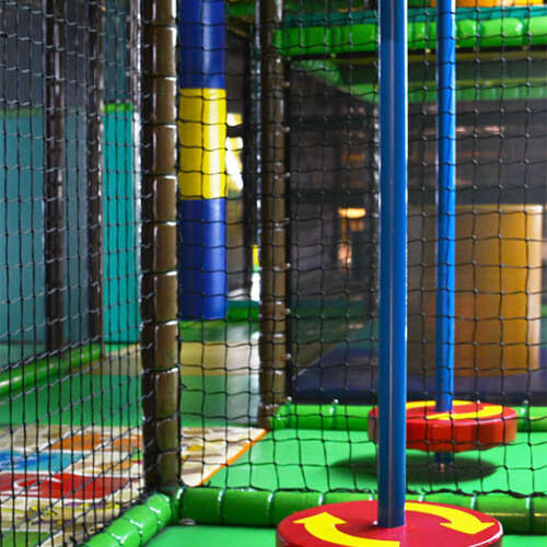 Turn plate indoor playground